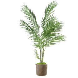 Palmier Areca artificiel H 160 cm D 100 cm en pot