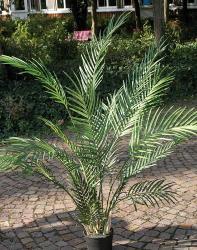 Palmier Areca artificiel tres large et dense en pot H 120 cm