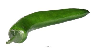 Piment artificiel Vert Legume L 15 cm D 2 cm