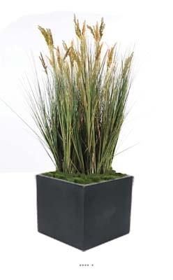 Isolepsis artificiel graminee Papyrus scirpes H 125 cm en pot
