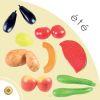 Lot 13 Fruits et Legumes artificiels d été en plastique soufflé
