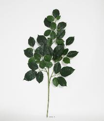 Branche de Hetre artificiel vert H 65 cm 43 feuilles feu retardant