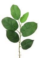 Feuillage artificiel en branche H 53 cm  L 17 cm vert
