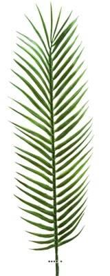 Feuille de palmier Cycas X6 H 57 cm Plastique pour exterieur D 15 cm superbe