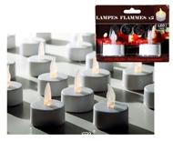 Lampes Flammes a led  X 2 avec piles Top ambiance en soiree