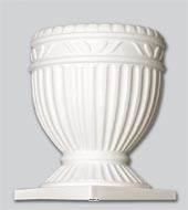 Vasque ionique artificielle blanche en Plastique soufflé D 320 mm