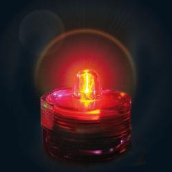 Led X1 couleur Rouge submersible réutilisable