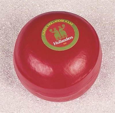 Edam artificiel boule de fromage en Plastique soufflé L 150x110 mm
