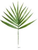 Feuille palmier Chamaerops artificielle H 44 cm D 32 cm plastique