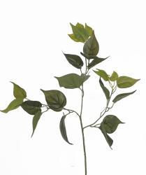 Feuillage de Philodendron artificiel en branche H 70 cm