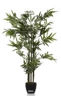 Bambou artificiel 5 cannes vertes 180CM 1440 feuilles