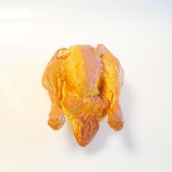 Poulet roti artificiel en Plastique soufflé L 230x140 mm