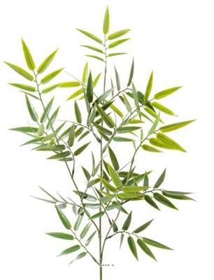 Branche de Bambou artificiel H 70 cm en plastique PE Largeur 40 cm exterieur anti UV