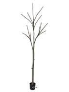 Tronc arbre artificiel nu H 270 cm 3 ramures superbe