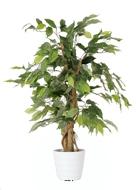 Ficus artificiel Abai H 80 cm 294 superbes feuilles Qualite Pro