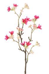 Fleur de Jasmin Artificielle 10 fleurs H 50 cm Superbe branche Rose fushia