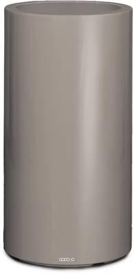 Bac fibres de verre gris clair revêtement gelcoat qualité marine Ø 42 cm H 75 cm Ext.