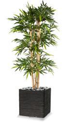 Bambou New grosses cannes H 240 cm 1984 feuilles artificiel
