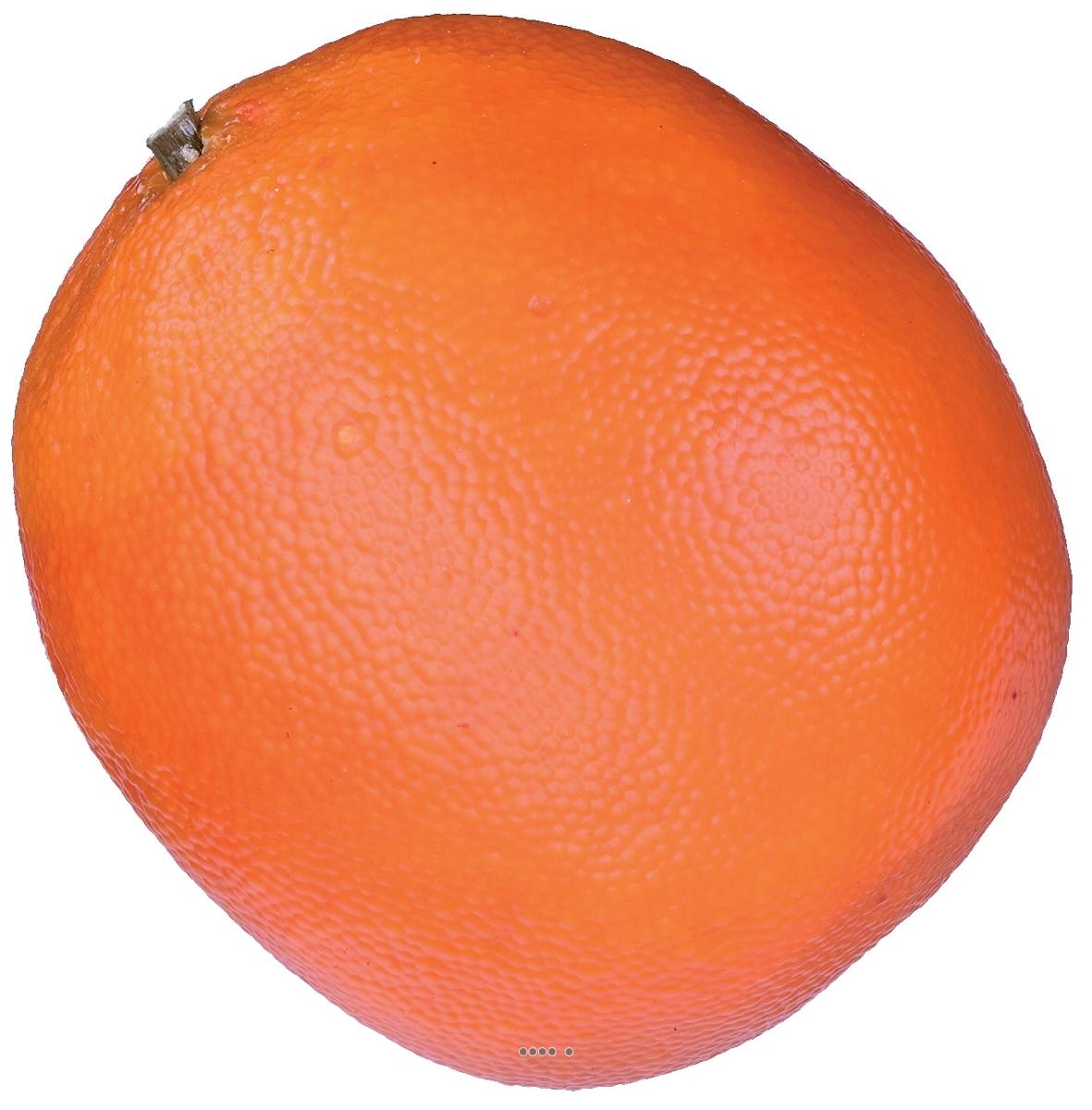 Orange artificielle D 8 cm avec leste superbe de realisme