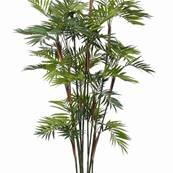 Palmier Parlour Artificiel H 200 cm 15 troncs en pot