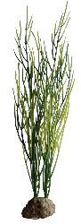 Sagittaria artificielle Vert-Jaune lestee H 25 cm environ pour aquarium et vivarium PROMO