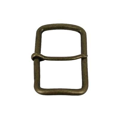 Boucle à ardillon - LAITON VIEILLI - 40 mm