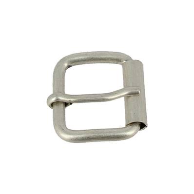 Boucle à rouleau à ardillon - ARGENT VIEILLI - 20 mm