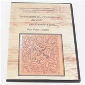 """DVD """"Techniques du repoussage du cuir - Les premiers pas"""" par Yves LESIRE - 2 disques"""