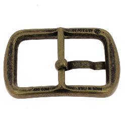 Boucle de ceinture JIM - LAITON VIEILLI - 30 mm