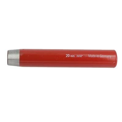 Emporte pièce à frapper ROND manche DROIT - diam : 20 mm