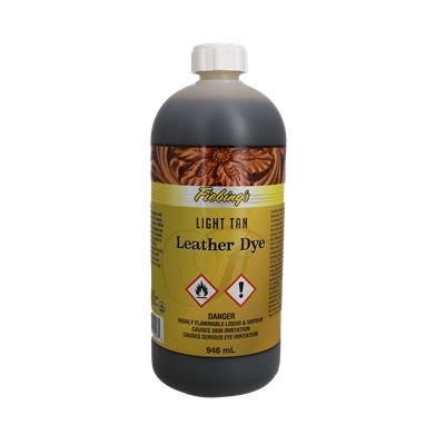 Teinture pour cuir FIEBING'S Leather dye - MARRON FAUVE - bidon de 946ml