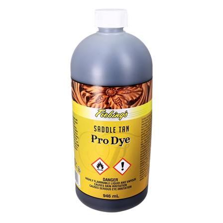 Teinture à l'huile - FIEBING'S Professionnal OIL DYE / PRO DYE - FAUVE - SADDLE TAN - 946ml