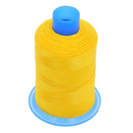 Bobine de fil polyester retors N° 30 - 400 mètres - JAUNE