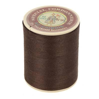Fil Spécial Cordonnerie 100% polyester - Bobine 750 m - CAFE 210