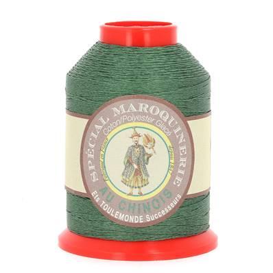 Fil Spécial Maroquinerie polyester coton - 28/4 - 0,52 mm - VERT