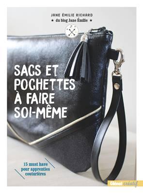 """Livre """"Sacs et pochettes à faire soi-même"""" - Jane Emilie RICHARD"""