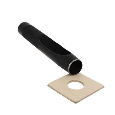 Emporte-pièce à frapper ROND manche DROIT - Diam 16 mm