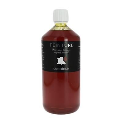Teinture base aqueuse Deco Cuir - JAUNE - 1 litre