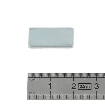 Aimant rectangle - 20 x 10 x 2 mm