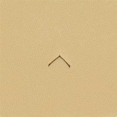Embout emporte-pièce de précision - ACCENT CIRCONFLEXE - 6,5 mm