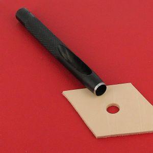 Emporte-pièce à frapper ROND manche DROIT - Diam 9 mm