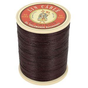 Bobine fil de lin au chinois câblé glacé - 332 - TERRE 369