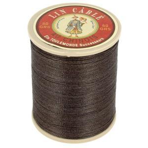 Bobine fil de lin au chinois câblé glacé - 332 - LICHEN 298
