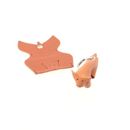 Kit BUFFLE porte-clés en cuir à monter soi-même
