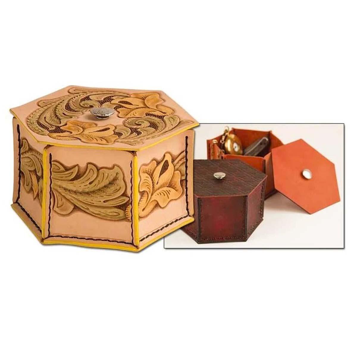 Kit pour boîte à souvenirs en cuir - 4460