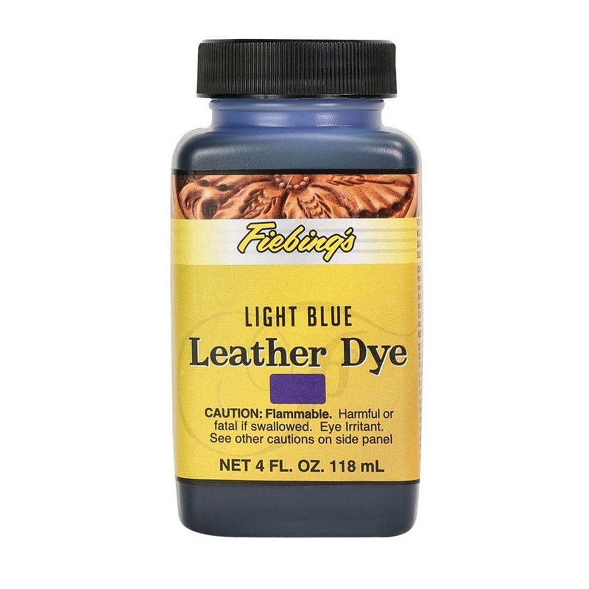Teinture pour cuir FIEBING'S Leather dye - BLEU - BLUE LIGHT