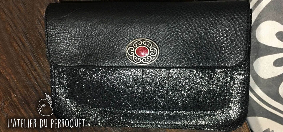 Compagnon Janis - Petite pochette en cuir