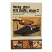 """Livre """"MAKING LEATHER KNIFE SHEATHS"""" - Créer vos étuis à couteaux en cuir - Volume 3"""