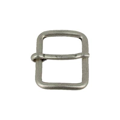 Boucle à ardillon - ARGENT VIEILLI - 25 mm