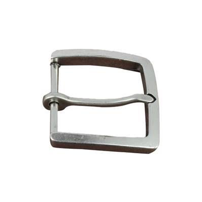 Boucle de ceinture à ardillon - Carré - ARGENT VIEILLI - 45 mm